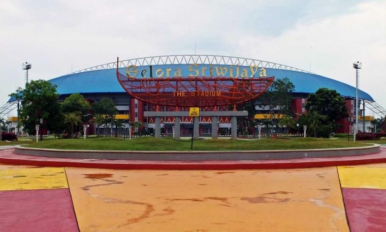 Pengelolaan Kawasan Stadion Gelora Sriwijaya Tidak Sebaik Dulu