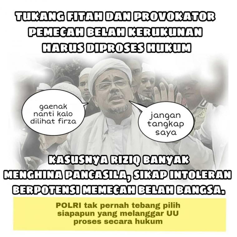 Benarkah Polri Mengkriminalisasi Ulama?