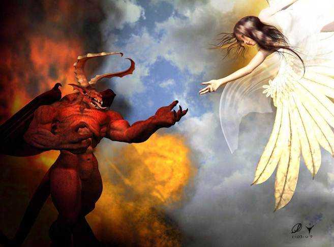 Puisi | Iblis dan Malaikat