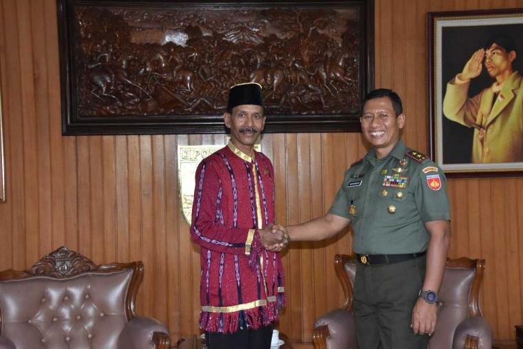 Pangdam Diterima Sebagai Keluarga Besar Raja-Sultan Nusantara Indonesia