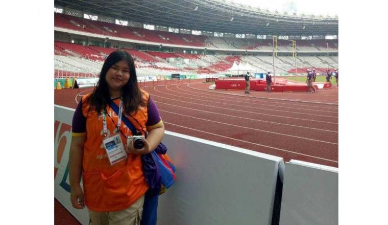 Mahasiswi President University Berpartisipasi di Asian Games 2018