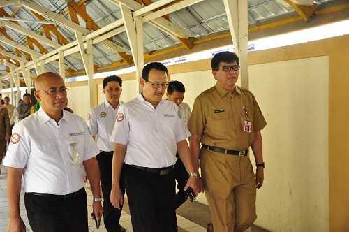 Pastikan Pelayanan Berjalan Baik, Direktur Utama BPJS Kesehatan Sambangi RSUD Arifin Achmad Pekanbaru