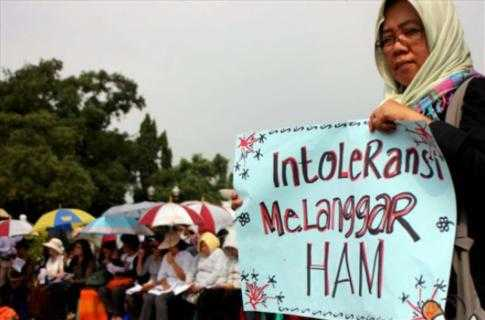 Krisis Toleransi Menggerogoti NKRI