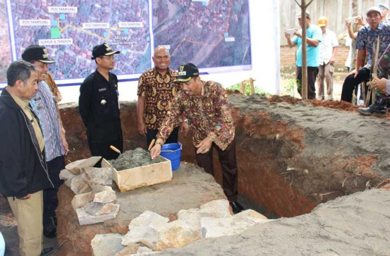 Pembangunan Sarana Air Bersih (Pipanisasi) untuk Desa