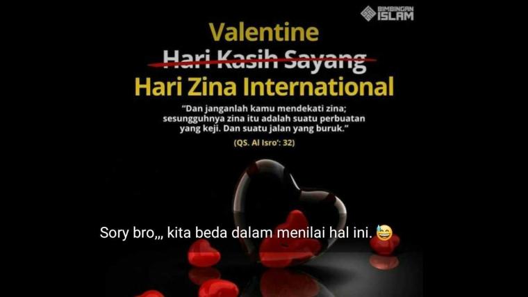 Kasih Sayang Bernuansa Zina