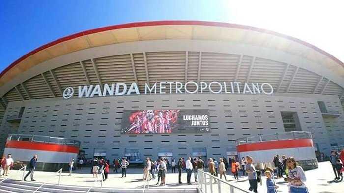 Stadion Wanda Metropolitano Menuju Final Pertama