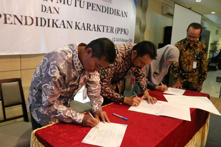 "Perkuat Program, Disdikbud Kaltara Jalin MoU ""Triple Joint"""
