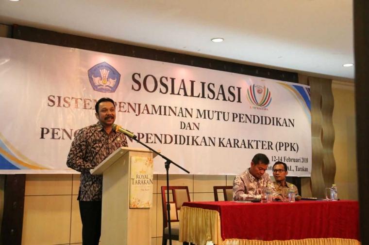 Disdikbud-LPMP Kaltara Sinergikan Program Pendidikan 2018