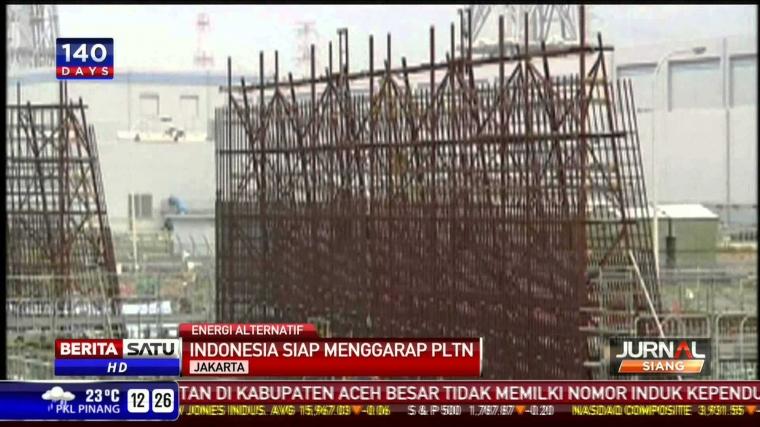 Saatnya Indonesia Punya PLTN