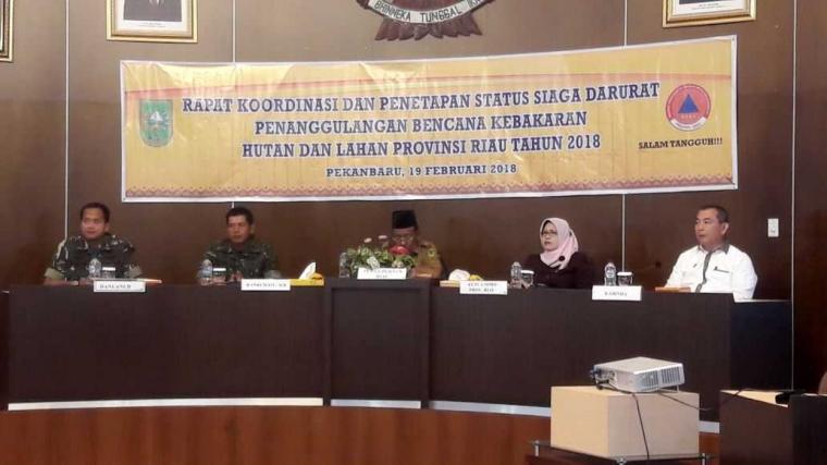 KLHK Dukung Pemerintah Provinsi Antisipasi Dini Karhutla