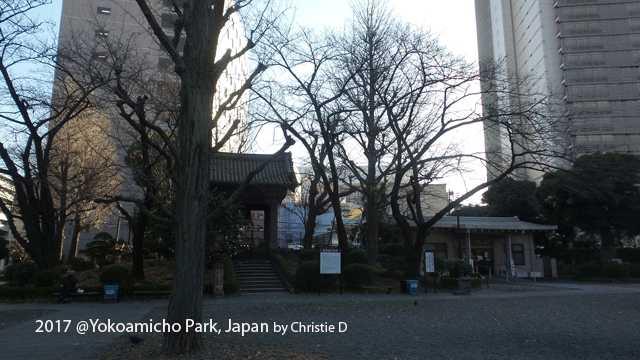 Abu Ribuan Orang Korban Gempa dan Serangan Perang Dunia II, di Yokoamicho Park