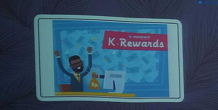 "Monetize (Meng""Uang""kan) Artikel Kompasiana dengan K-Reward"