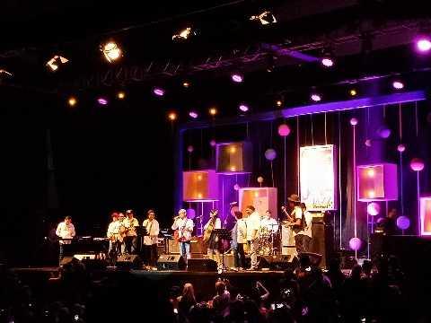 """Ketika Para Menteri Kabinet Kerja """"Mengguncang"""" Pentas Java Jazz Festival 2018"""