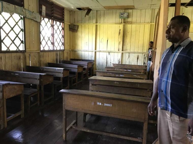 Pak Titus dan Semangat Belajar di SD Inpres Sagare (Bagian ke-3)