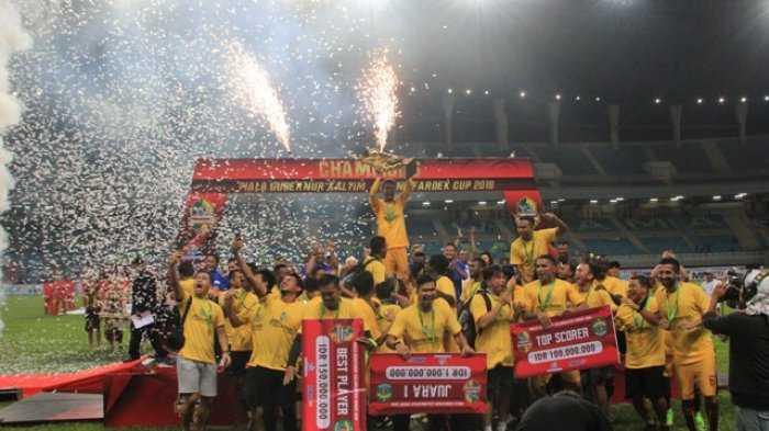Sriwijaya FC Raih Juara, Beto Top Skor, Konate jadi Pemain Terbaiknya