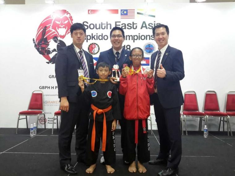 Atlet Hapkido Jateng Harumkan Nama Indonesia di Singapura