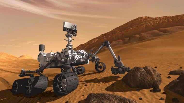 Para Penjelajah Mars