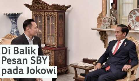 DI BALIK PESAN SBY PADA JOKOWI