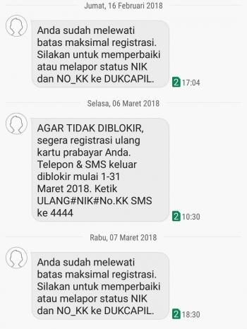Jalan Panjang Registrasi Kartu Sim - Kompasiana com