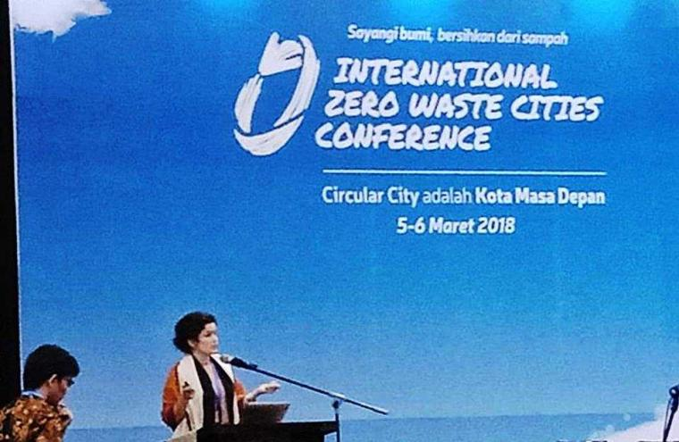 Mengubah Paradigma tentang Sampah di  Konferensi Internasional Zero Waste Cities