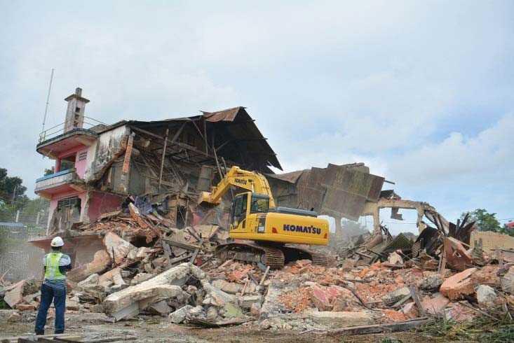Rumah Kontroler Belanda, Sebuah Bangunan Cagar Budaya yang Dihancurkan