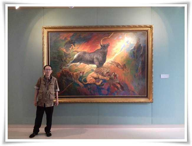 Lukisan Basoeki Abdullah Rp 200 Miliar, Wow!