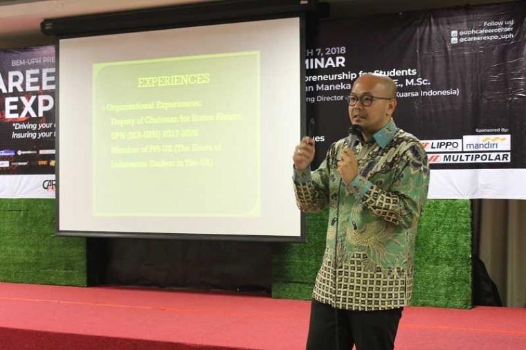 Career Expo UPH: Gandeng Alumni Bangkitkan Semangat Entrepreneur Mahasiswa