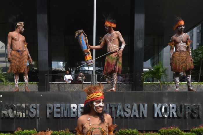 Empat Taktik Menelisik Tindak Korupsi Sejak Dini ala Pemuda Papua