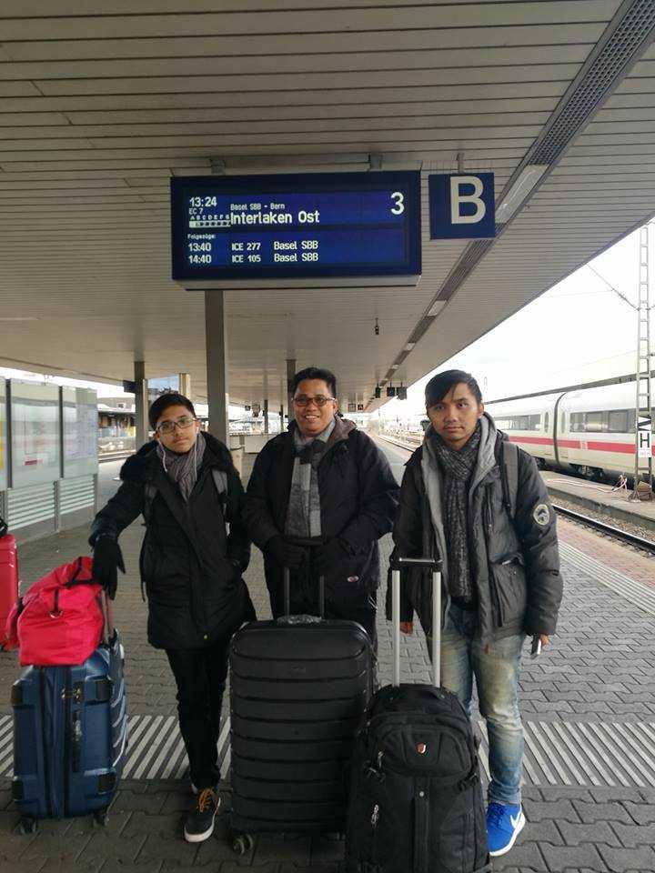 Status Perjalanan (3), Basel