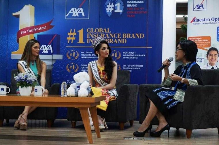Axa Financial Indonesia Dukung Kemandirian Perempuan Lewat Ajang Puteri Indonesia 2018
