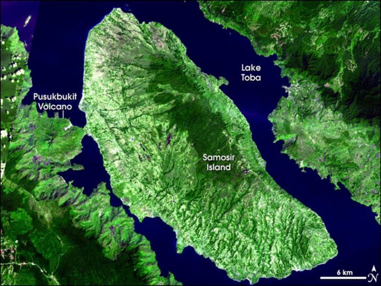 """Letusan """"Toba Super Volcano"""" yang Menentukan Sejarah Evolusi Manusia"""
