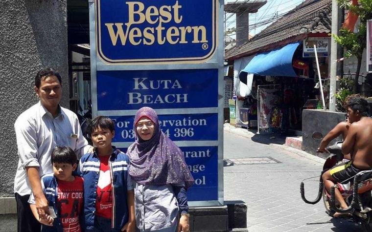 Surga Keluarga di Best Western Kuta Beach Hotel Bali