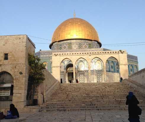 Catatan Perjalanan (2), Pergi ke Al Aqsa Butuh Stamina Luar Biasa