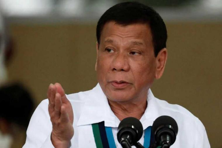 Rodrigo Duterte Perintahkan Tentara Lemparkan Penyidik PBB ke Kandang Buaya