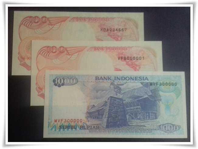 Uang Kertas Nomor Cantik di Mata Masyarakat Awam dan Numismatis