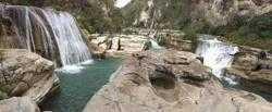 """Betapa Cantiknya Air Terjun """"Twin Canyon"""" Tanggedu di Utara Sumba"""