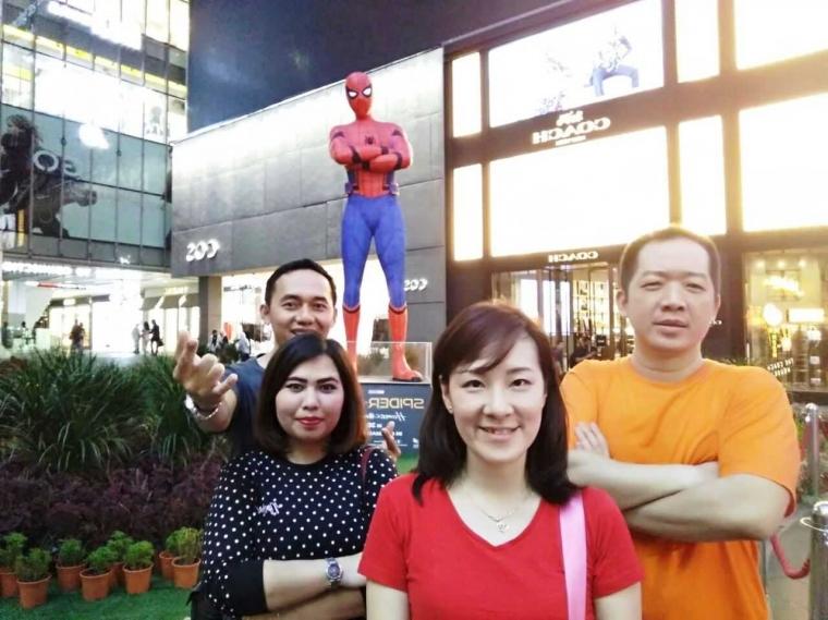 """Cara ke KLCC """"Tower & Park"""" dari Bukit Bintang Kuala Lumpur"""