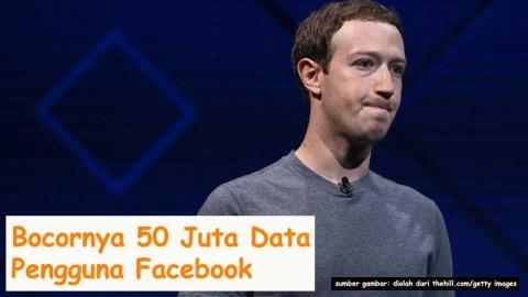 BOCORNYA 50 JUTA DATA PENGGUNA FACEBOOK
