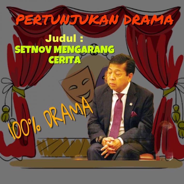 Drama Setya Novanto Berlanjut, Kini Buat Tuduhan Palsu