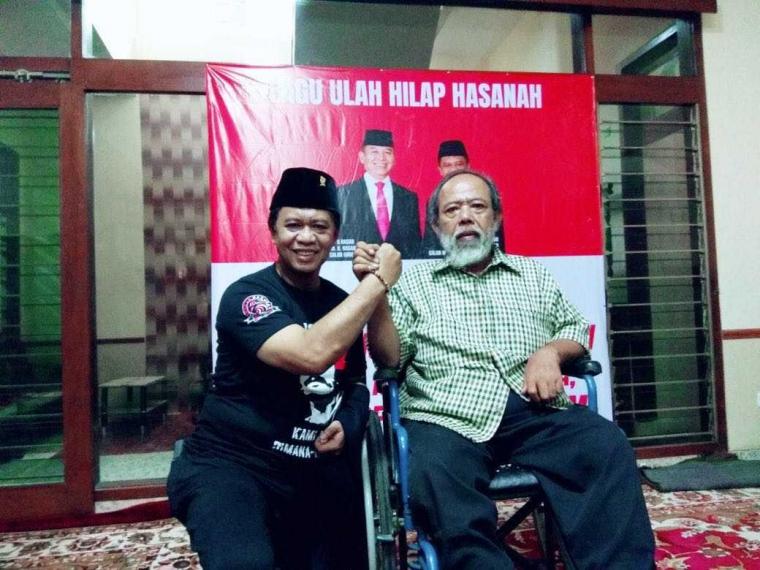 Kaum Difabel Dukung Hasanah, Kang Anton Siap Beri Perhatian