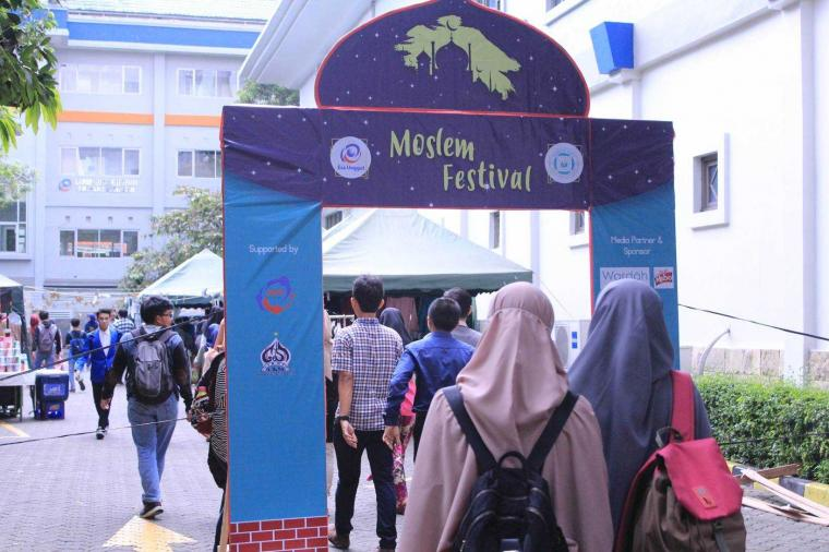 Moslem Festiva' Esa Unggul Tingkatkan Spiritualitas dan Semangat Pemuda Muslim
