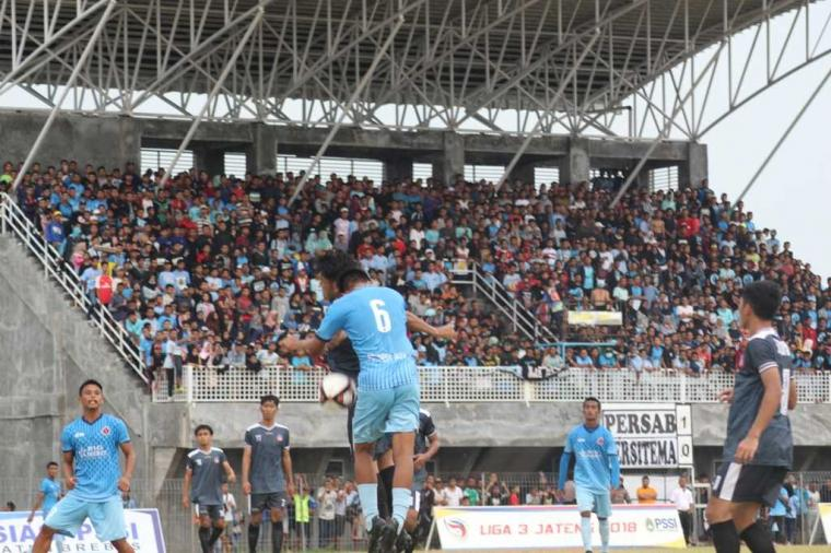 Persab Brebes Lolos Delapan Besar Liga 3 Jateng