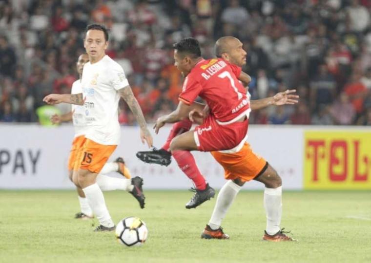 Persija Jakarta Persembahkan Kemenangan atas Borneo FC kepada Wakapolri
