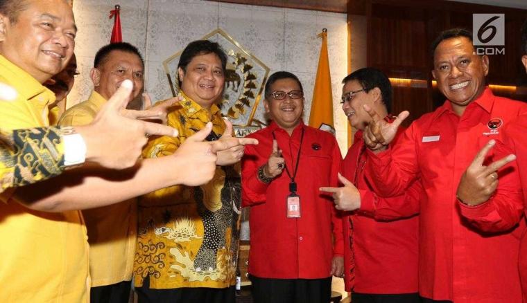 Korupsi PDI-P dan Golkar, Mungkinkah Jokowi Kalah Pilpres 2019?