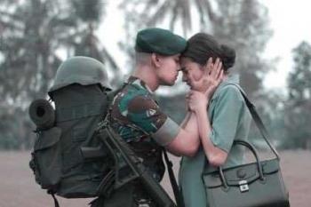 Selalu Ada Perempuan Hebat Di Balik Sosok Tentara Yang Kuat