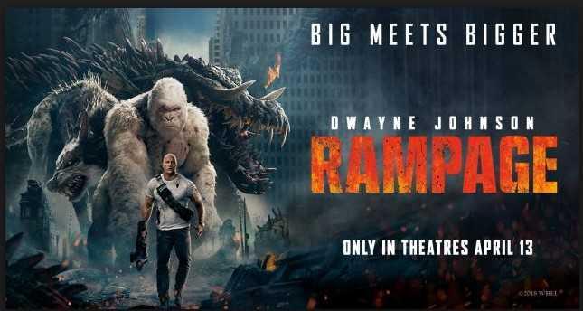 [Resensi Film] Rampage, Saat Monster Menyerang Kota