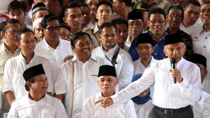 Akankah Ucapan Amien Rais tentang Partai Setan Naikkan Elektabilitas Prabowo?