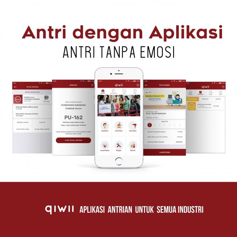 Aplikasi Antrian Online Karya Anak Bangsa, Launching di Bandung