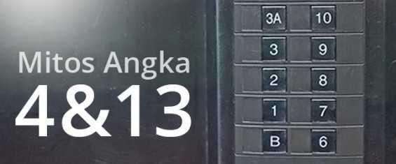 Ternyata Ini Alasan Hilangnya Angka 4 dan 13 di Lift!