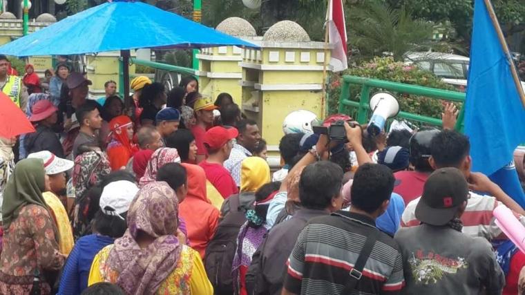 Pedagang Pasar Pringgan Meminta Keadilan Kepada Pemko Medan Atas Status lahan